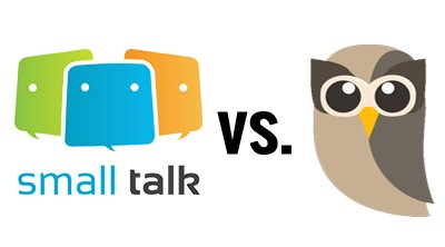 Small talk messaging vs Hootsuite