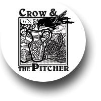Crow and the Pitcher Philadelphia Restaurant Logo