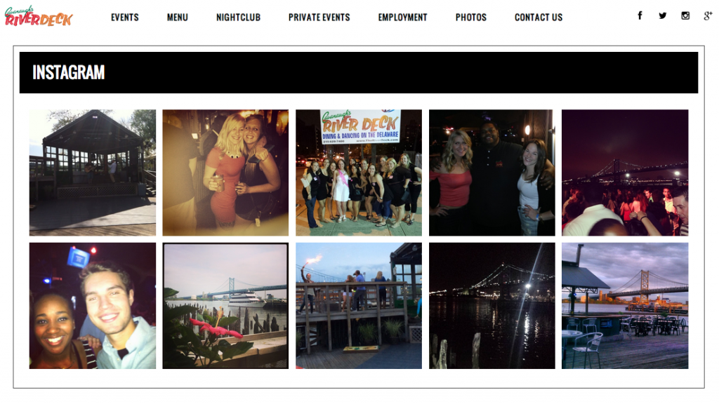 Cavanaughs Riverdeck Philadelphia Nightclub Social Media Marketing Digital