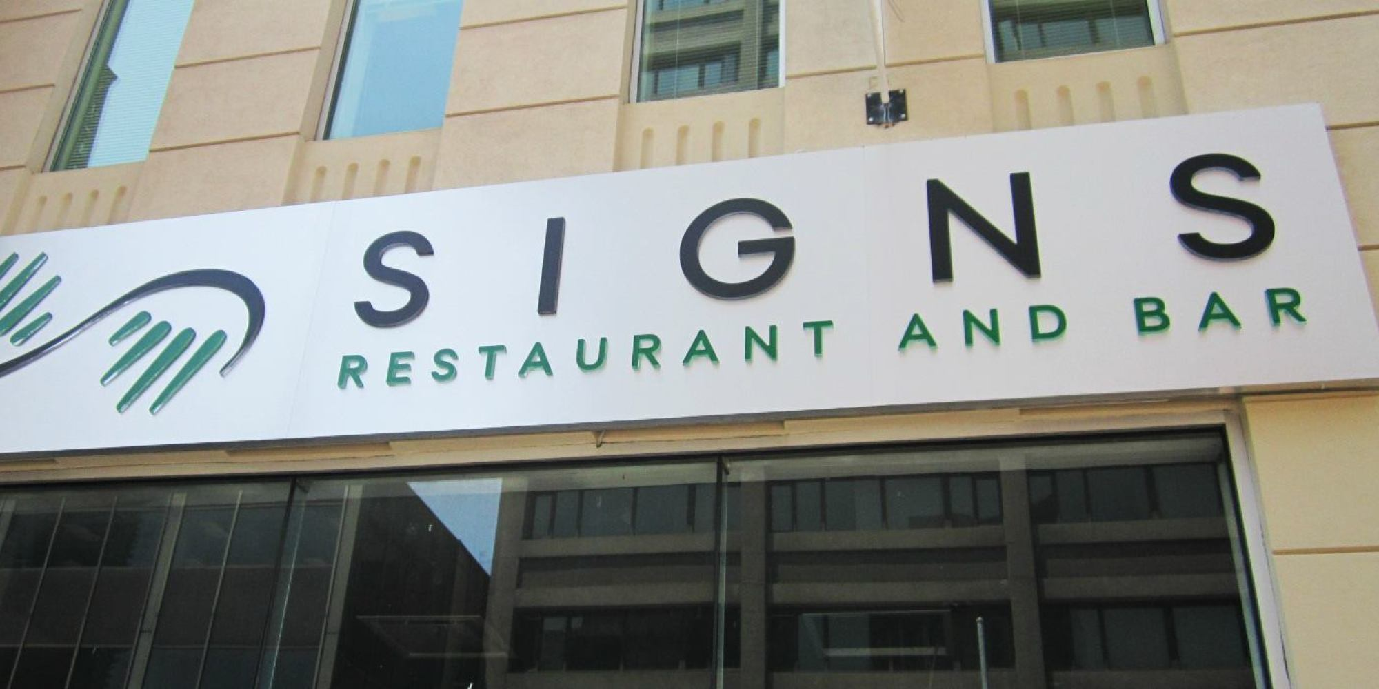 New restaurant concept Signs in Toronto Canada