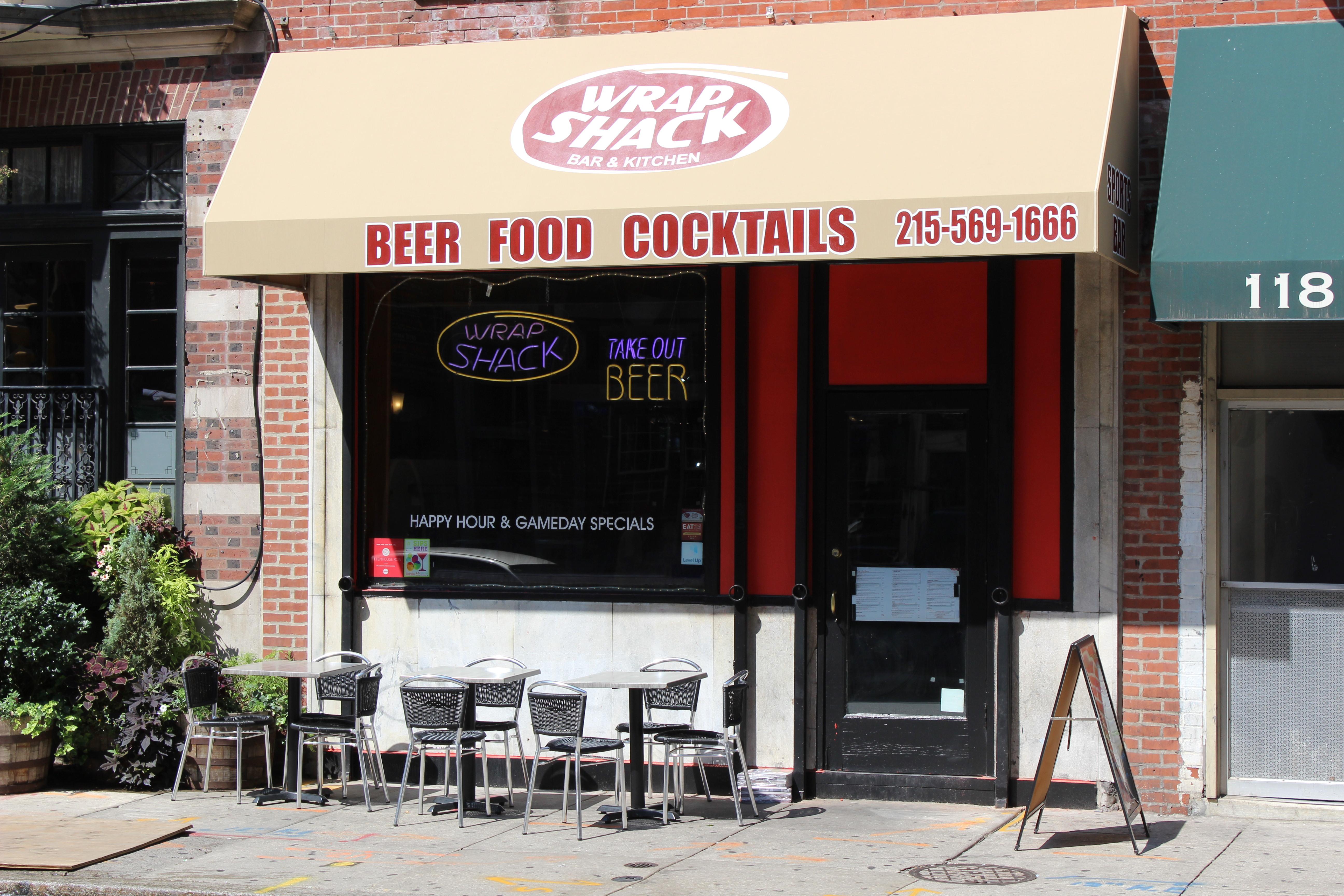 Wrap Shack Rittenhouse Bar Philadelphia