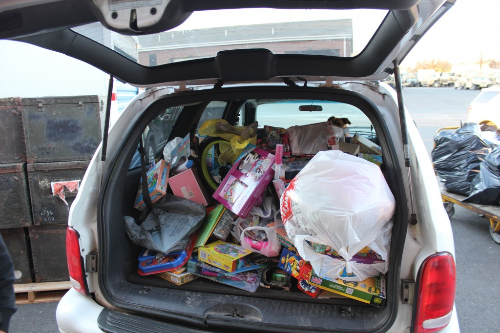 I filled my SUV with toys, Twice!
