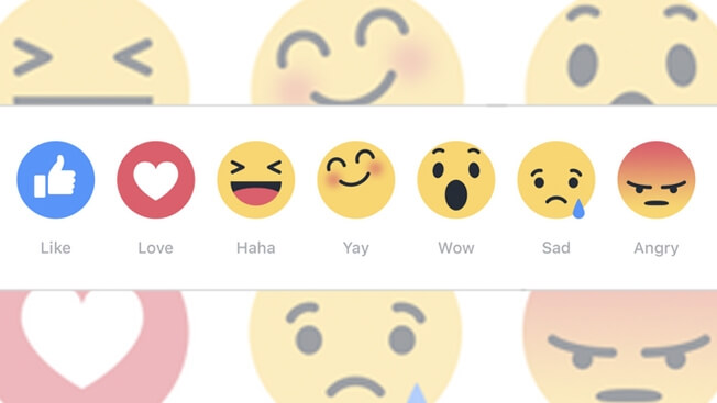 Facebook Emoji 'Reactions'